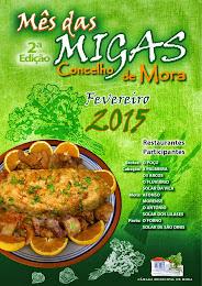 Fevereiro-  Mês das Migas em Mora