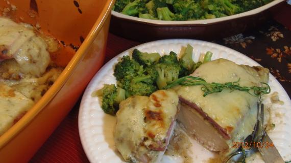 Un-Stuffed Chicken Cordon Bleu Recipe