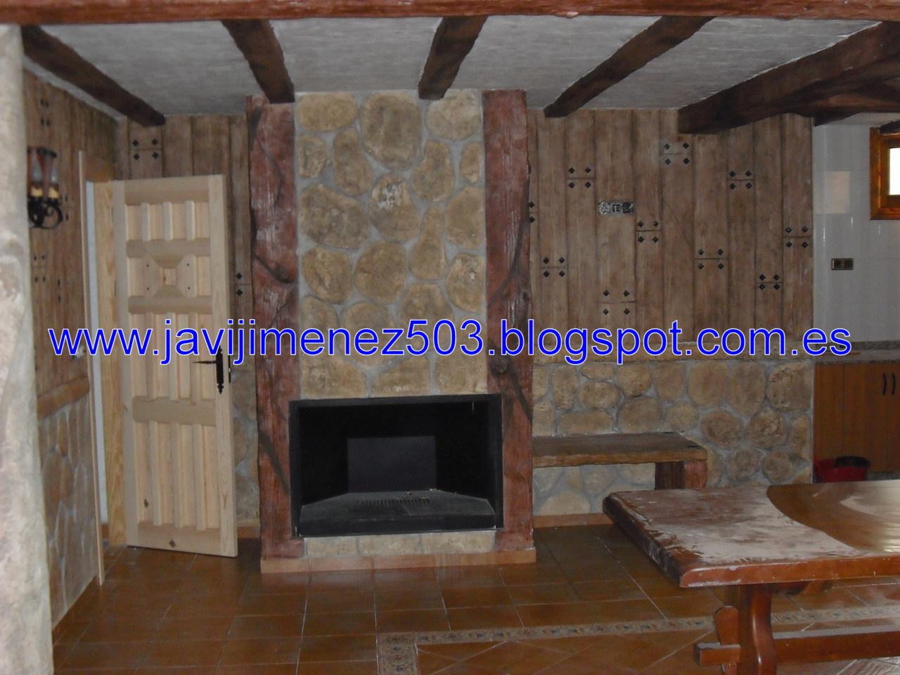 Piedras y maderas artificiales javier lude a tlf - Revestimiento piedra interior ...