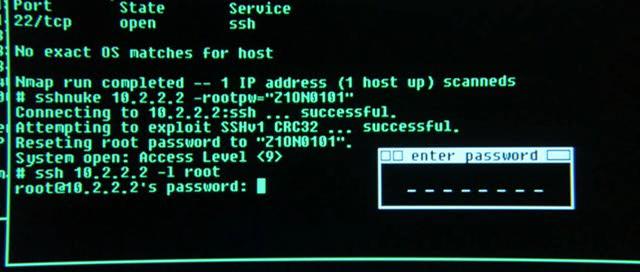 Linux en Matrix con Nmap y exploits: ser hacker como forma de romper sistemas. Linuxmatrix
