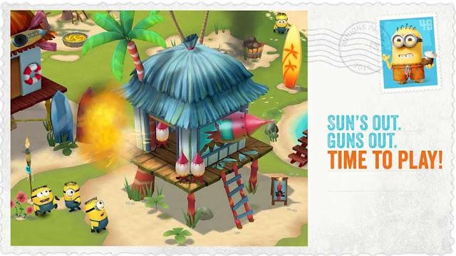 Games Minion Paradise sudah tersedia di Android dan iOS