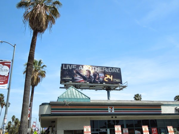 Live Another Day 24 billboard