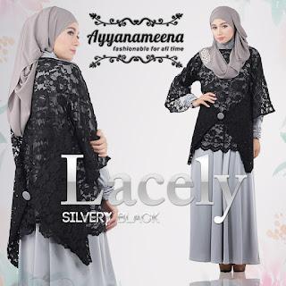 Ayyanameena Lacely - SilveryBlack