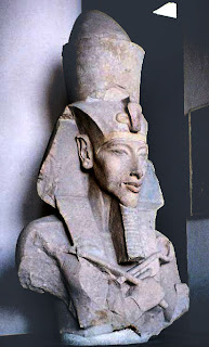 Pharaoh Akhenaten - Wikimedia Commons
