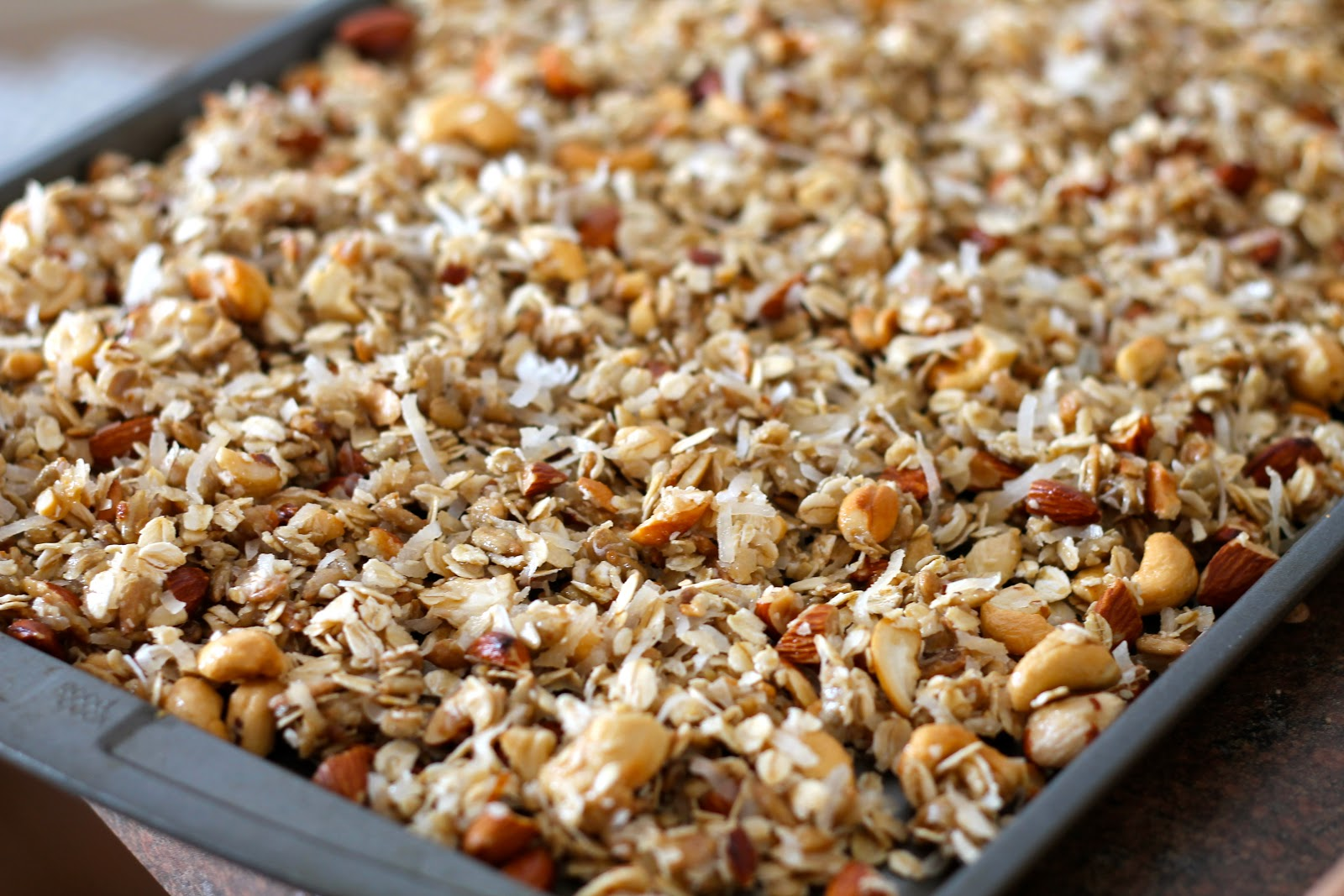 Mrs. Schwartz's Kitchen: The Best Granola