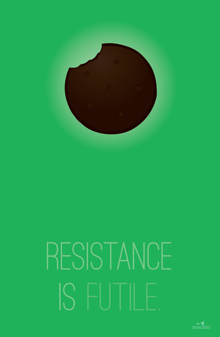 resistance is futile   nicholas j nawroth digital artist