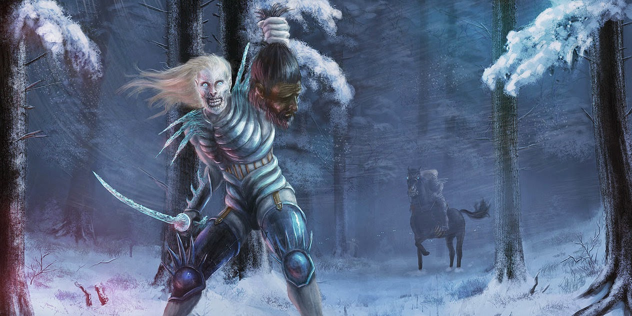 the White Walkers took a