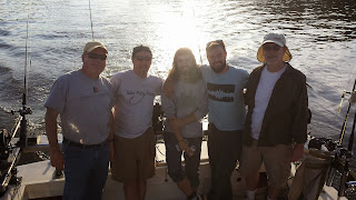 michigan tourism, pure michigan, michigan salmon fishing, salmon charter fishing
