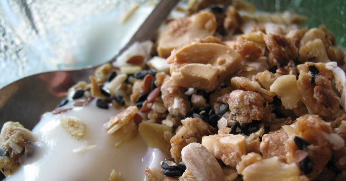 I See Fit People: Cashew Ginger Granola with Dates