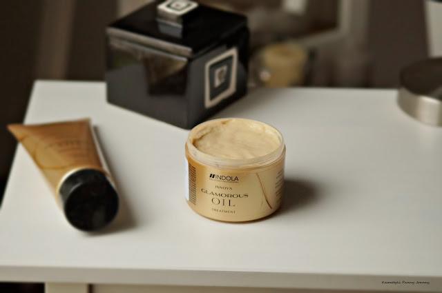 Kosmetyki dla suchych, zniszczonych włosów | Indola Glamorous Oil maska do włosów, Indola Glamorous Oil szampon, Indola Glamorous Oil | seria Glamorous Oil, Glamorous Oil, kosmetyki Indola,