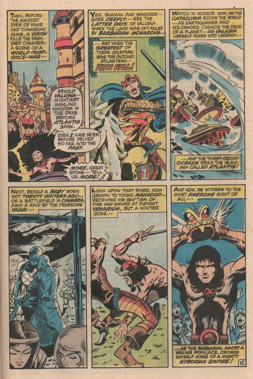Conan the Barbarian (1970) Issue #1 #13 - English 16
