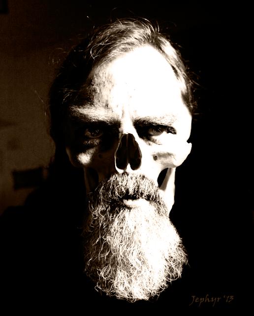 Jephyr Skull - Art 202 Identity Project - Copyright 2013, Jephyr