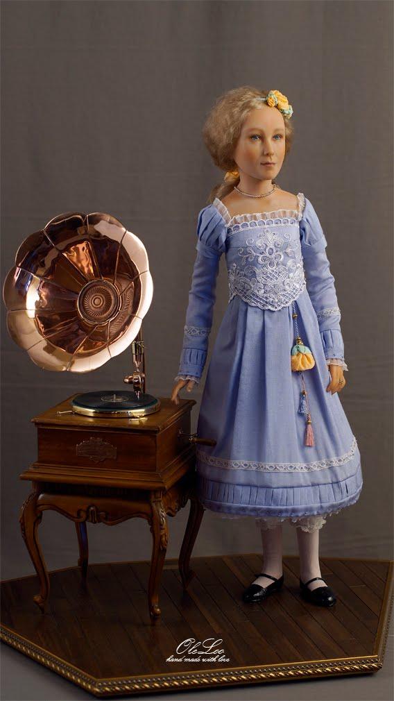 Портретная кукла Лиза