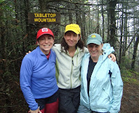 Beth, Marcy and Elizabeth on Tabletop Mtn.  The Saratoga Skier and Hiker, first-hand accounts of adventures in the Adirondacks and beyond, and Gore Mountain ski blog.