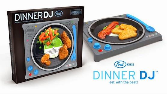 Dinner DJ o prato interativo