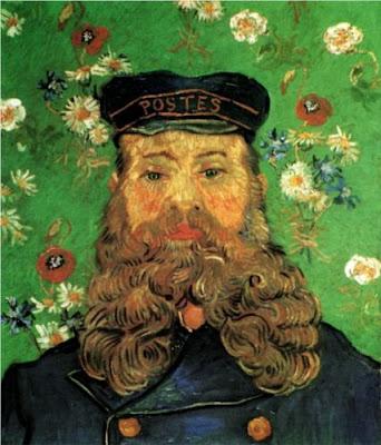 "Picture of ""Portrait of Joseph Roulin"" by Vincent Van Gogh, 1889"