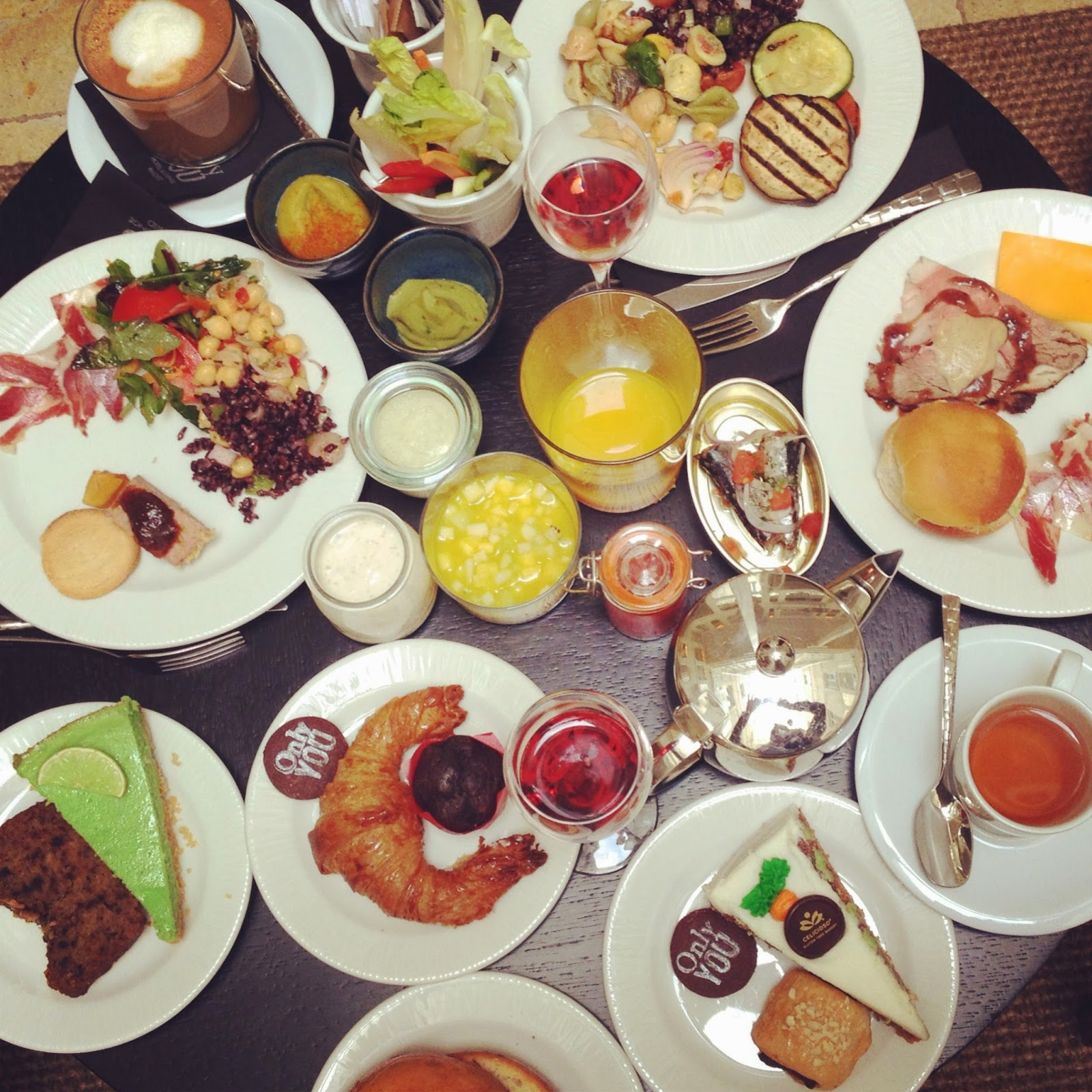 Brunch at Only You Hotel & Lounge Madrid