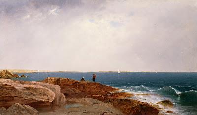 John Frederick Kensett: Naragansett Bay (1861)