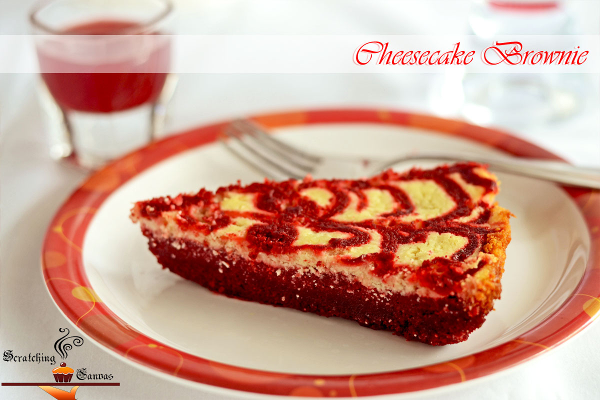 Classic Red Velvet Cheesecake Swirl Brownie - Scratching ...
