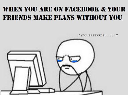 Worst Feeling Ever On Facebook