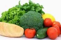 alimento con fibra higiene bucal