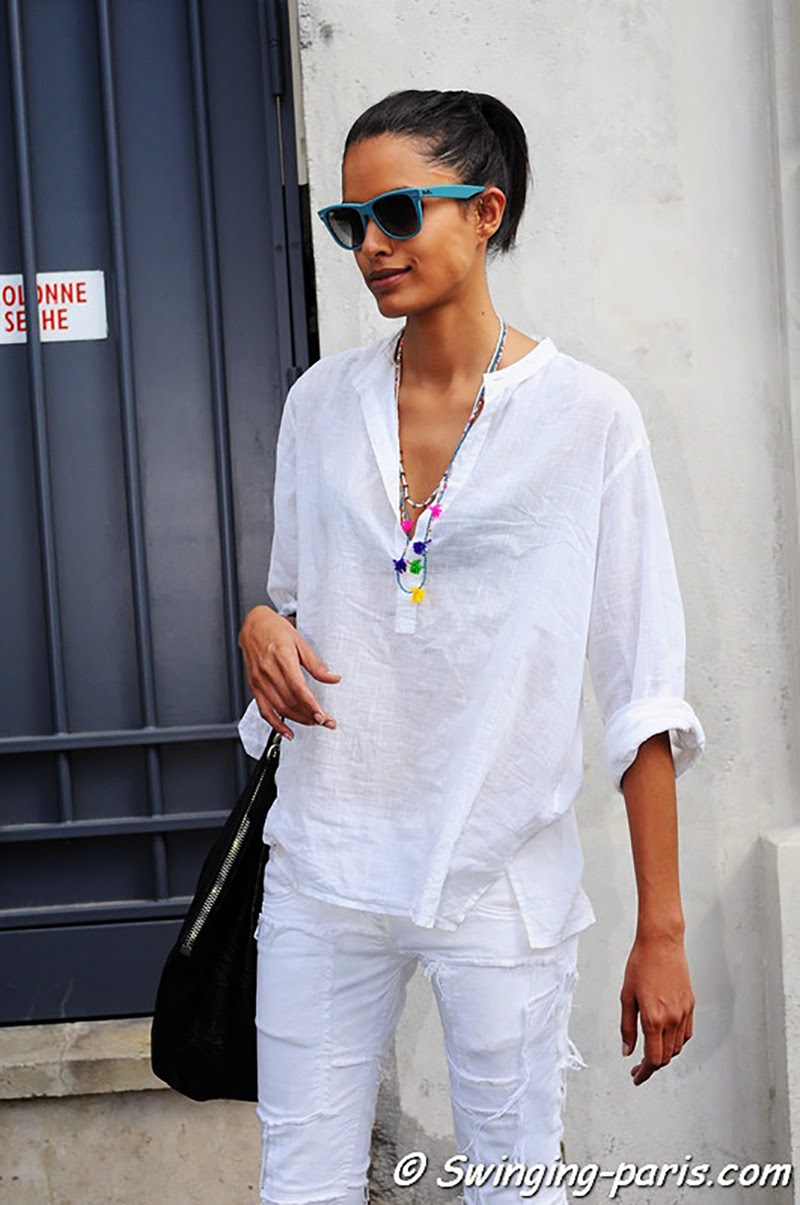 How to wear white in Summer