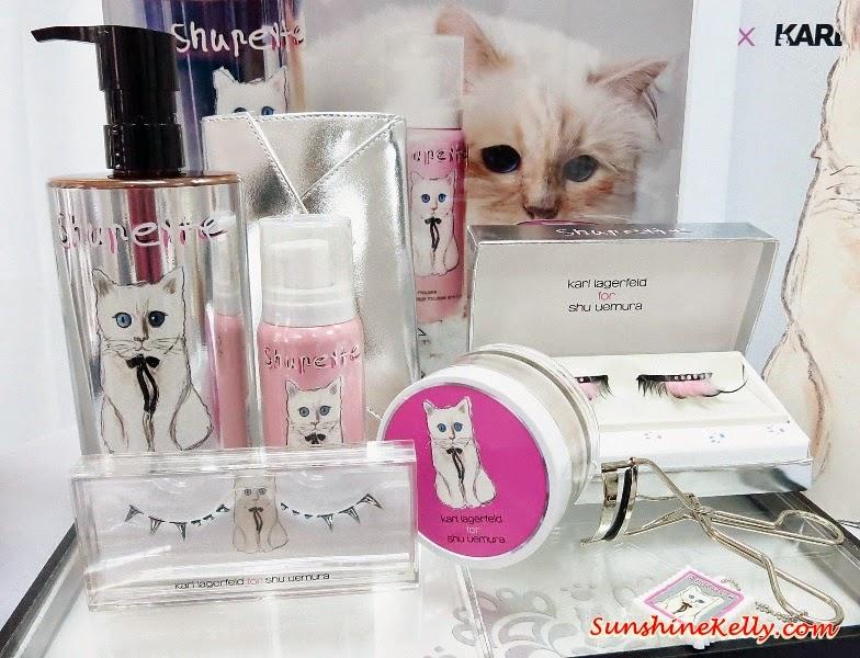 Shupette by Karl Lagerfeld for Shu Uemura 2014 Holiday Collection, Shu Uemura, Shupette, Karl Lagerfeld, Choupette, Cat Look, Cat Eye, Cat Makeup, Shu Uemura Malaysia