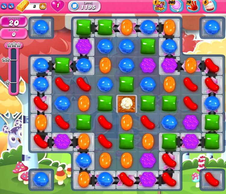 Candy Crush Saga 1195