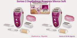 Sorteo 2 Depiladoras Silence Soft de Rowenta en Raqueleita.com