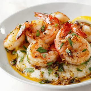 Shrimp Lemon Garlic Shrimp and Grits Recipe