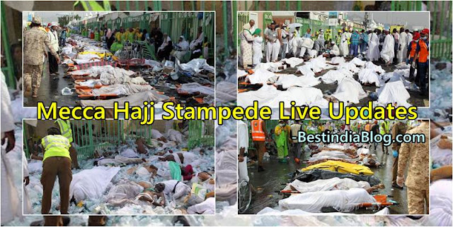 mecca hajj stampede video