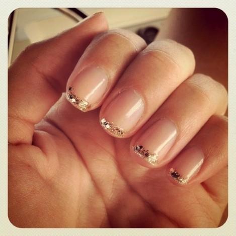 entertainment news beautiful girl nails art designs 2013