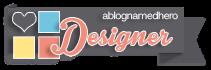 I design for 'A Blog Named Hero'!