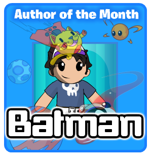Little Space Cheats author of the Month Batman