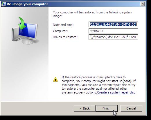 Cara nak buat windows 7 system recovery johan rakyat for Window recovery