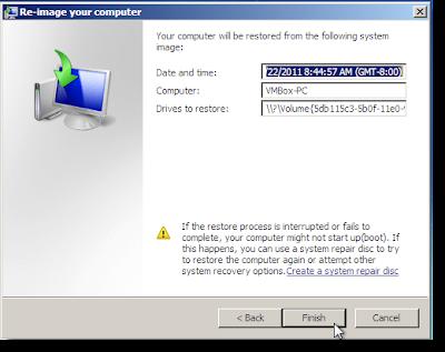 Cara nak buat Windows 7 System Recovery