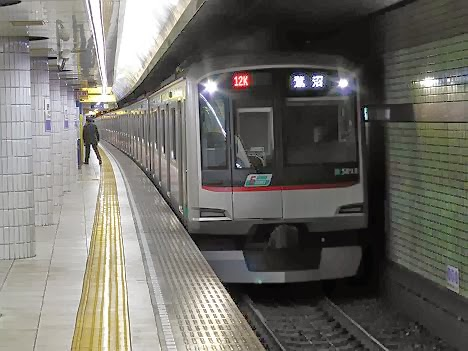 東京メトロ半蔵門線 東急田園都市線直通 鷺沼行き3 東急5000系