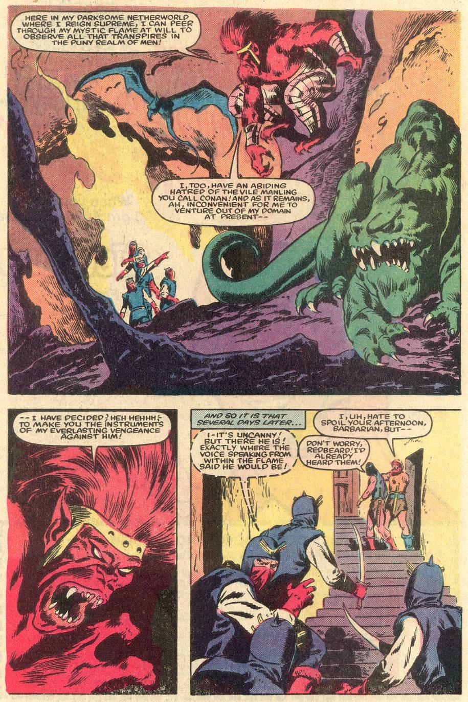 Conan the Barbarian (1970) Issue #162 #174 - English 6