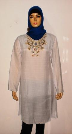 Grosir Baju Muslim Murah Tanah Abang Atasan Tunik Warna