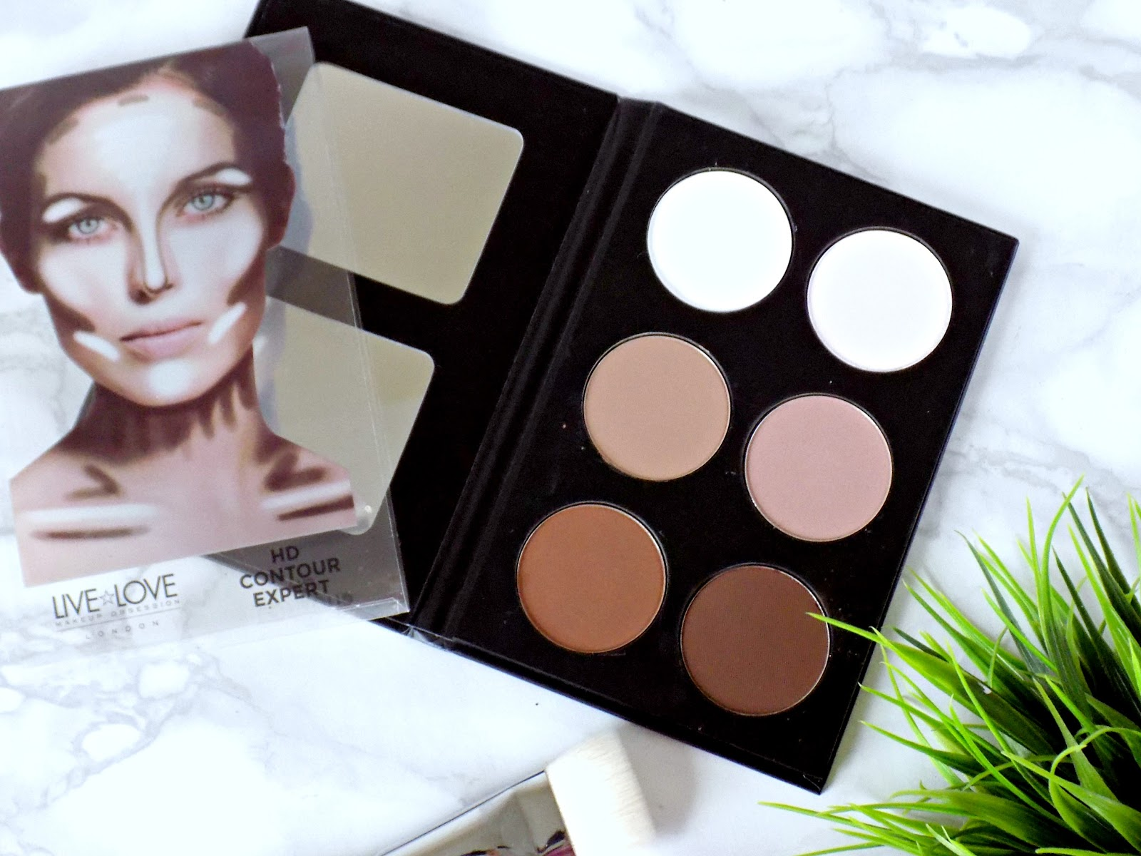 Live Love London HD Contour palette
