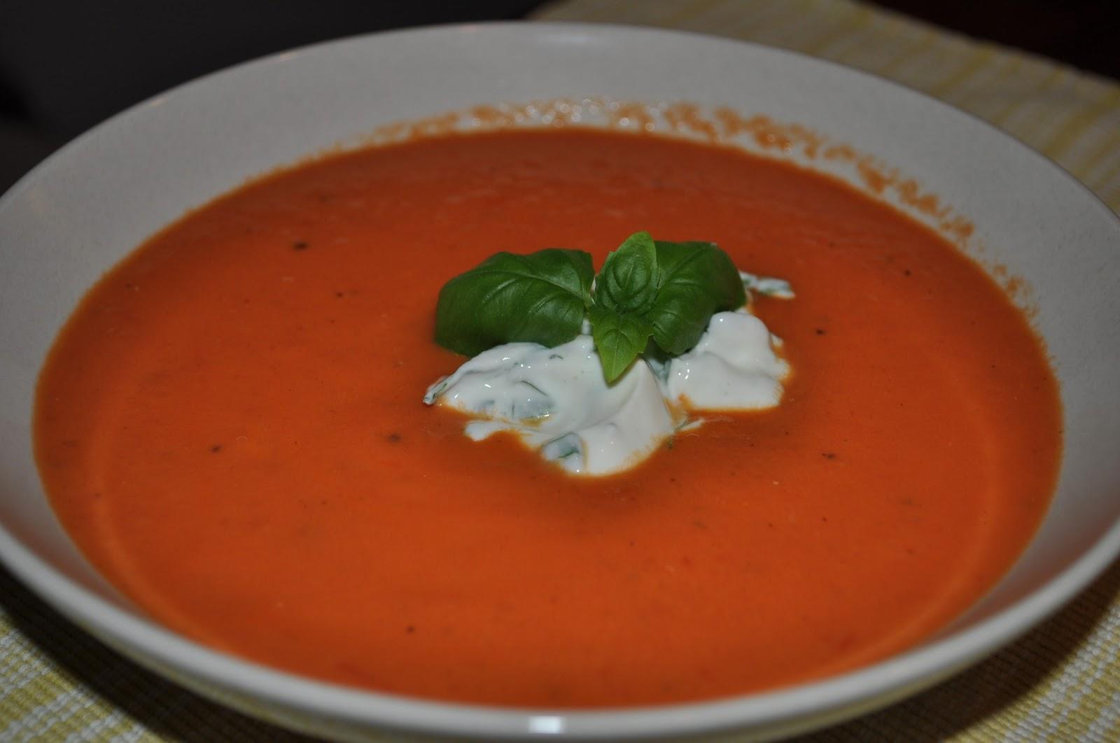 tomatsoppa färska tomater