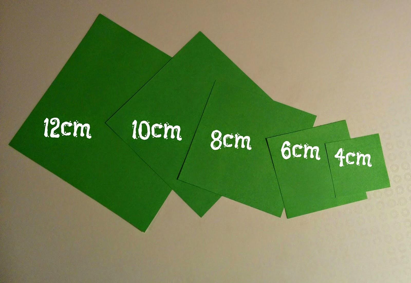 Los chiribiquis de winga rbol de navidad de origami i - Arbol de navidad origami ...