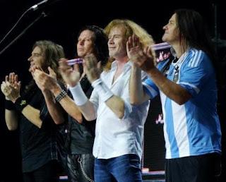 megadeth argentina 2012
