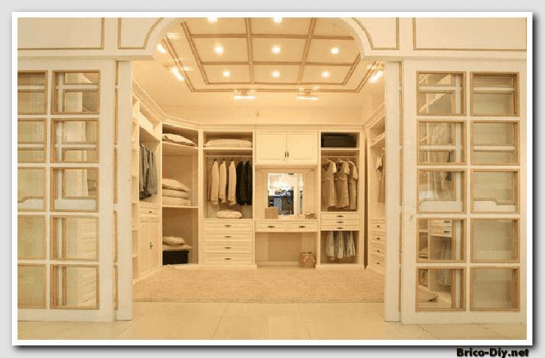 Walk in closet dise os modernos ideas para decorar y for Closet para zapatos modernos