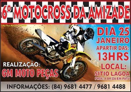 6º MOTOCROSS DA AMIZADE