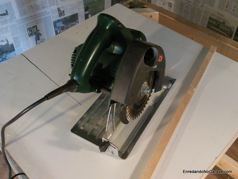 How to make a table saw, rummageinthegarage