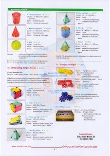 Alat Peraga Matematika SD , RAB DAK SD 2016