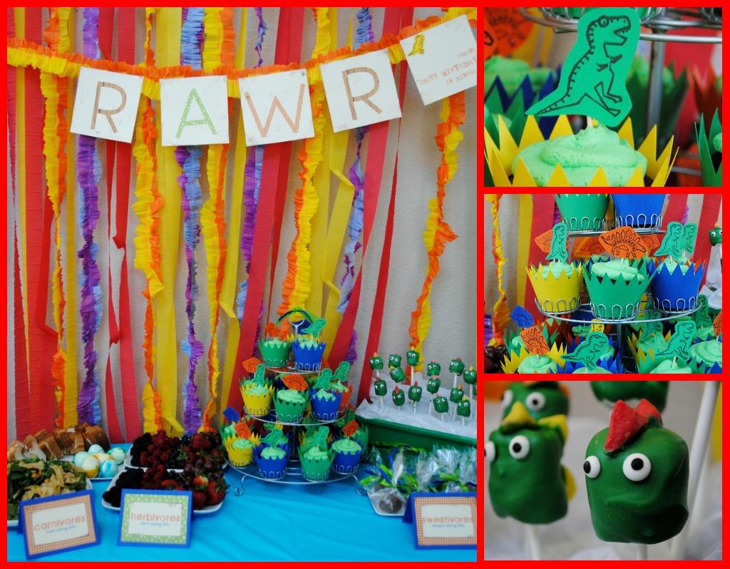 Holiday Snob Dinosaur Birthday Party Rawr Part 2