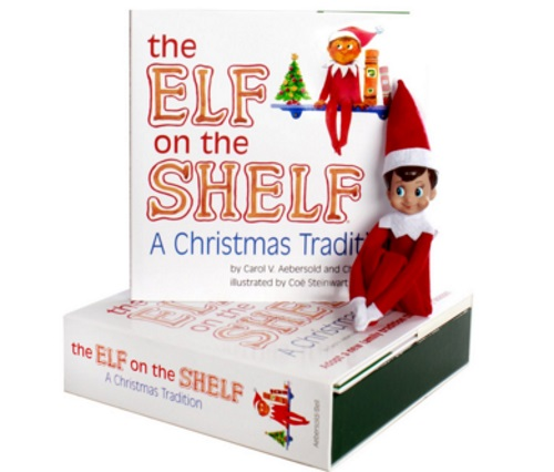 12 Days of Christmas Giveaways Day 1 - Elf on the Shelf