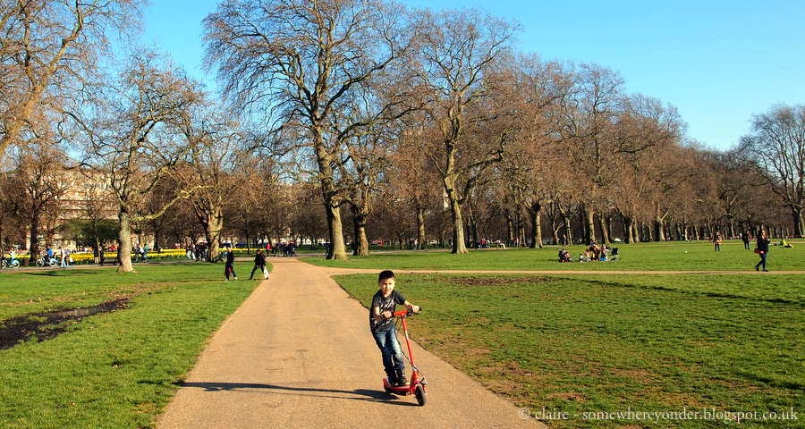 summer festival spot - Hyde Park